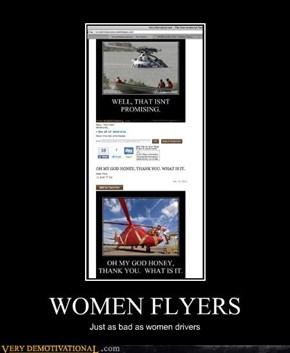 WOMEN FLYERS