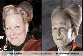 Bette Midler Totally Looks Like Bram Stoker's Dracula