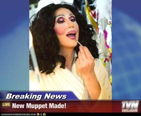 Breaking News - New Muppet Made!