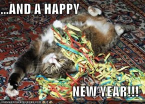 ...AND A HAPPY  NEW YEAR!!!