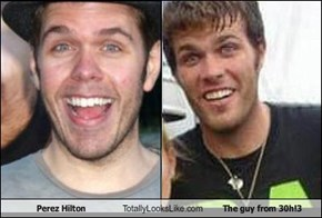 Perez Hilton Totally Looks Like The guy from 30h!3
