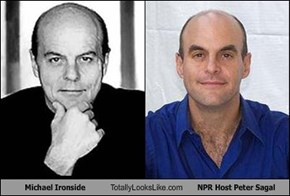 Michael Ironside Totally Looks Like NPR Host Peter Sagal