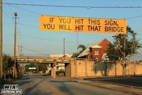 Low Bridge Warning WIN