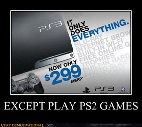 EXCEPT PLAY PS2 GAMES
