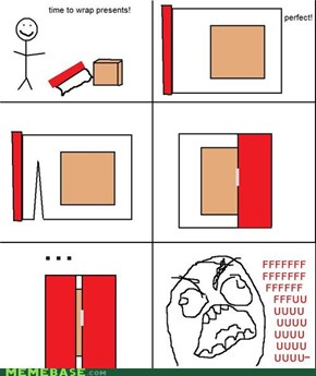 Rage Guy: Wrapping!