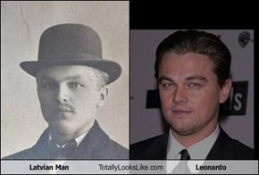 Latvian Man Totally Looks Like Leonardo