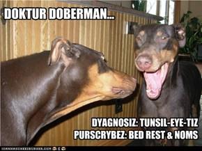 Doktur Doberman...