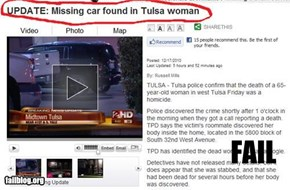 Woman Eats Car...?