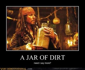 A JAR OF DIRT