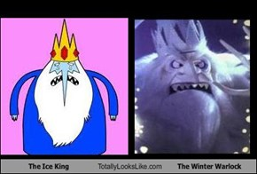 The Ice King Totally Looks Like The Winter Warlock