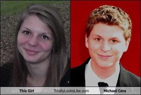 This Girl Totally Looks Like Michael Cera