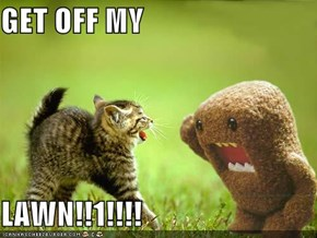 GET OFF MY  LAWN!!1!!!!