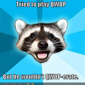 Lame Pun Coon: QWOP
