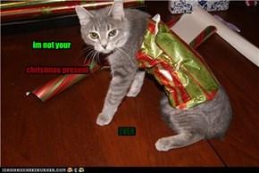 no presents