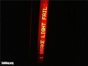 Brake Light... FAIL