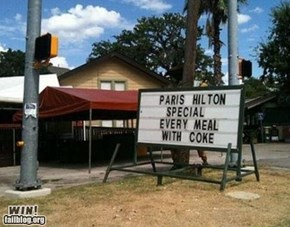 Restaurant Special WIN