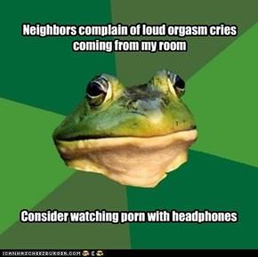 Foul Bachelor Frog: Noise Complaints
