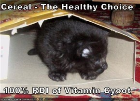 Cereal - The Healthy Choice  100% RDI of Vitamin Cyoot