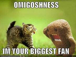 OMIGOSHNESS  IM YOUR BIGGEST FAN
