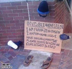 Invisible Homeless WIN
