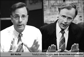 Bill Moller Totally Looks Like Dana Carvey's Bush impersonation