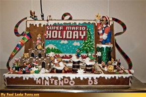 Funny Food Photos - Super Mario Gingerbread