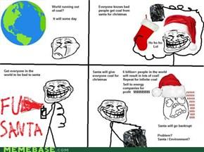 Troling Santa!