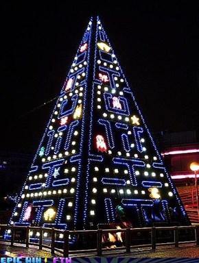 Pacman Christmas