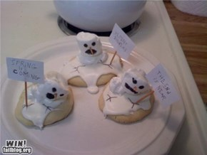 Snowman Cookies WIN
