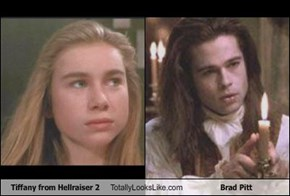 Tiffany from Hellraiser 2 Totally Looks Like Brad Pitt