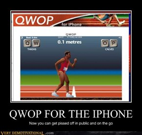 QWOP FOR THE IPHONE