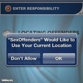sex offenders fail
