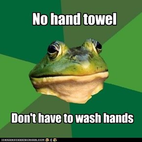 Don't have to wash hands