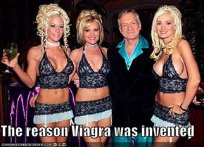 The reason Viagra was invented