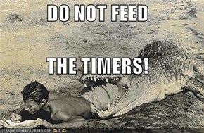 DO NOT FEED THE TIMERS!
