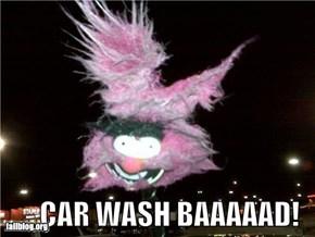 Car wash Baaaaad!