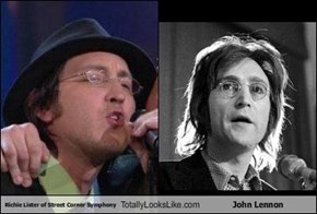 Richie Lister of Street Corner Symphony Totally Looks Like John Lennon