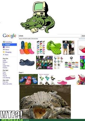Crocs: WTF?!