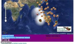 Christmas Island win