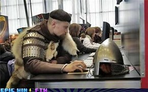 After a Day of Slaying Dragons I Check My Email