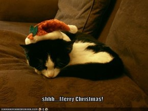 shhh....Merry Christmas!