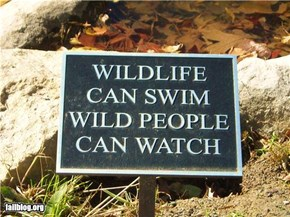 Wild People Can Watch
