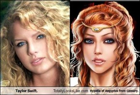 Taylor Swift. Totally Looks Like Hypatia of ÆAegyptus from Caesary.