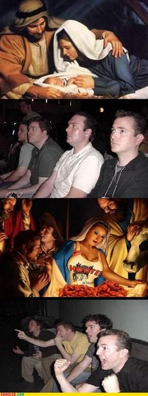 Ahora... a rezar el Rosario...