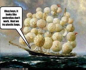 If at first you fail sail, fail, fail again