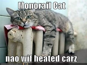 Monorail Cat  nao wif heated carz