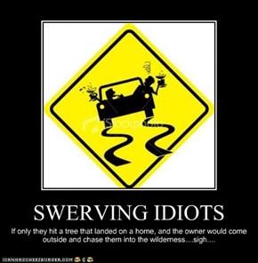SWERVING IDIOTS