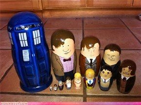 Doctor Who Nesting Dolls: Cuuute!