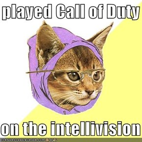 I played Call of Duty   on the intellivision