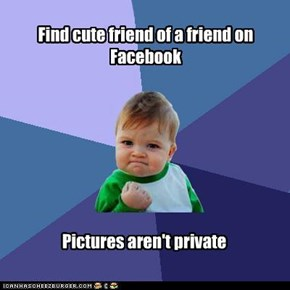 Success kid: Facebook pictures